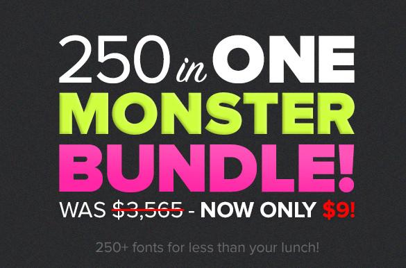 Monster-Mega-Font-Bundle