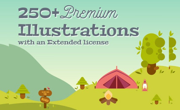 250+-Illustrations---Just-for-$23