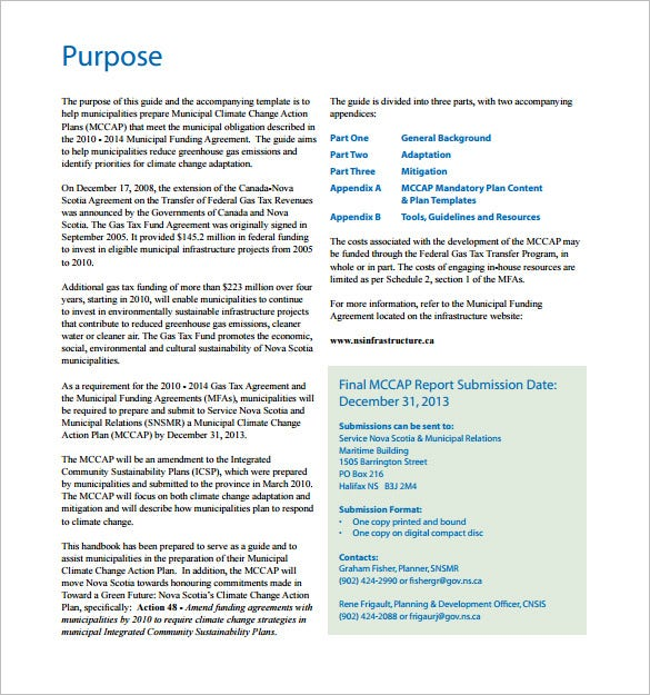 municipal climate change action plan pdf free download