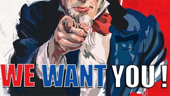 10  we want you posters
