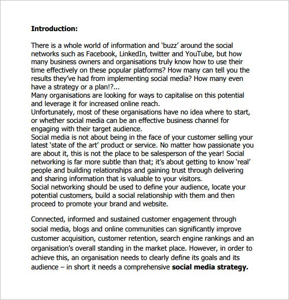 social media campaign action plan pdf free download