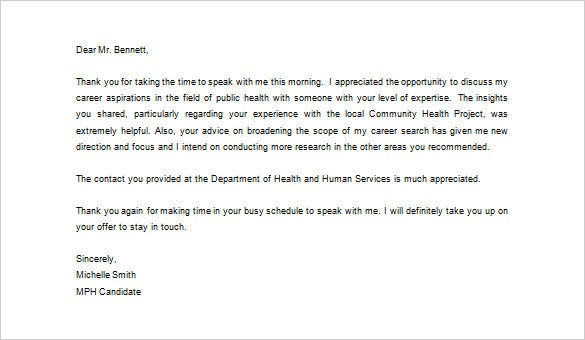 medical thank you letter 10 free sample example format