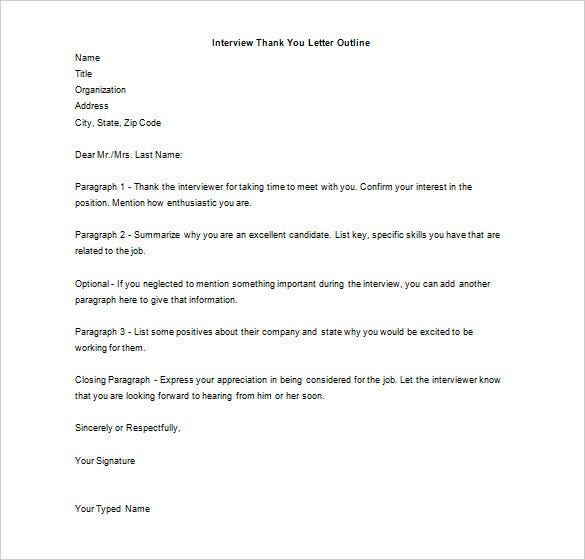 Marketing Thank You Letter   Free Sample Example Format
