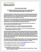 Student-Corrective-Action-Plan