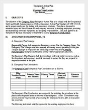 Medical-Emergency-Action-Plan-Template