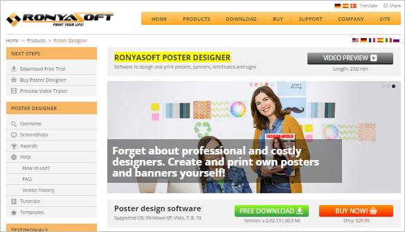 RonyaSoft-Wanted-Poster-Designer