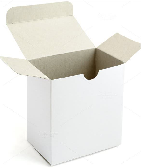 Cardboard Box Template   Free Sample Example Format Download