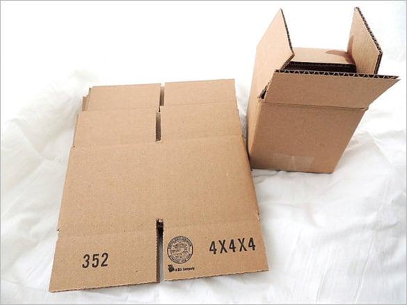 cardboard sample