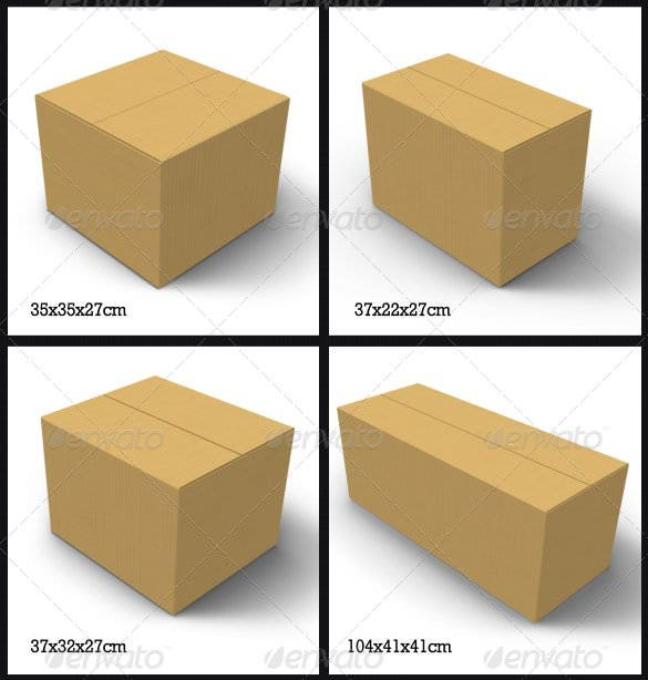 how to make a box out of cardboard template