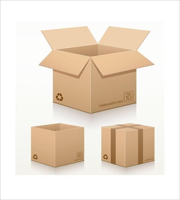 cardboard box template - Acur.lunamedia.co