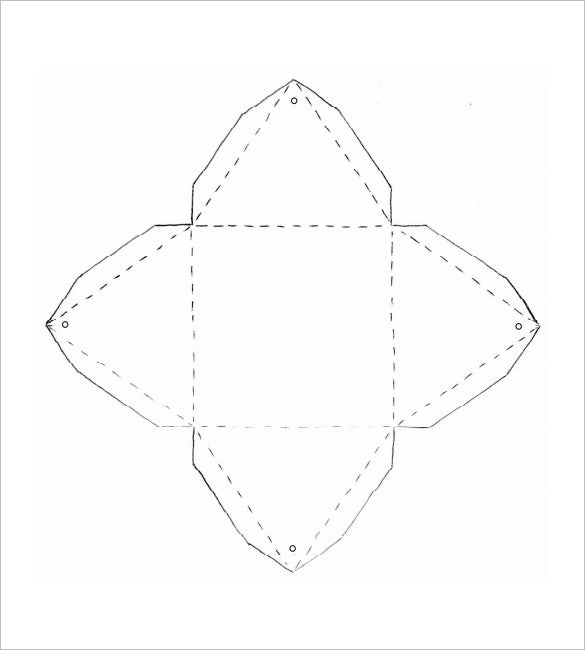 pyramid box template pdf