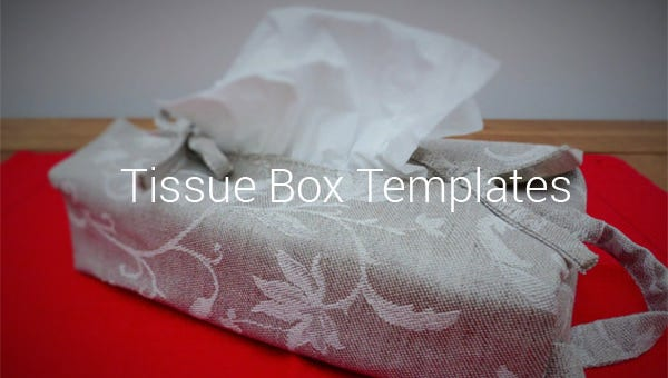 tissue box templates