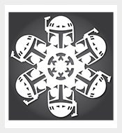 Boba-Fett-Star-Wars-Snowflake-Download-PDF