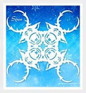 Download-Frozen-Snowflake-Sven-Template