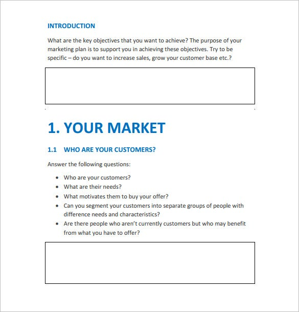 Marketing Agency Action Plan Sample Template