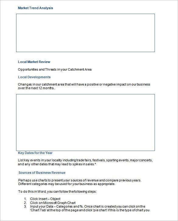 marketing analysis action plan sample template