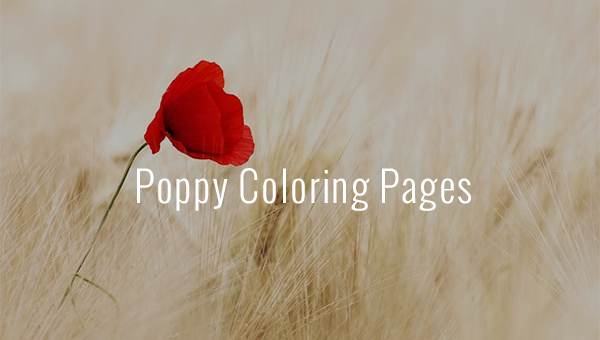 poppycoloringpages