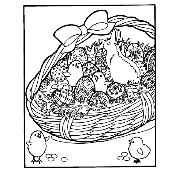 Free Easter Coloring Book Download : Printable 48 disney easter coloring pages 12067