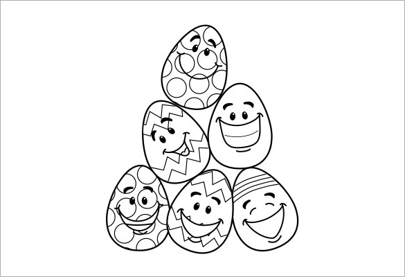 picture about Free Printable Easter Eggs named 21+ Easter Coloring Webpages - Cost-free Printable Phrase, PDF, PNG