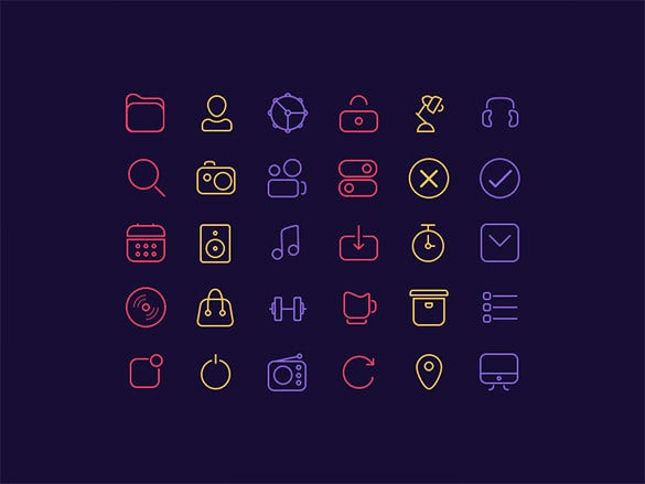 30 iphone icons for free download