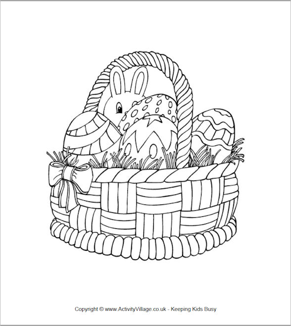 21+ Easter Coloring Pages - Free Printable Word, PDF, PNG, JPEG, EPS ...