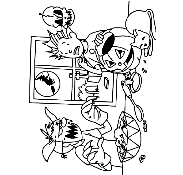 Free Printable Pumpkin Coloring Pages For Kids | 560x585
