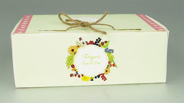 great british summer picnic meal box template free