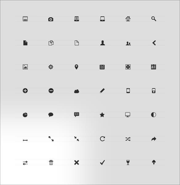 amazing 80 scalable icons for free