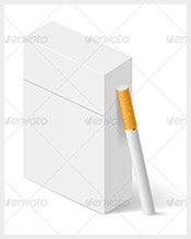 White-Cigarette-Box