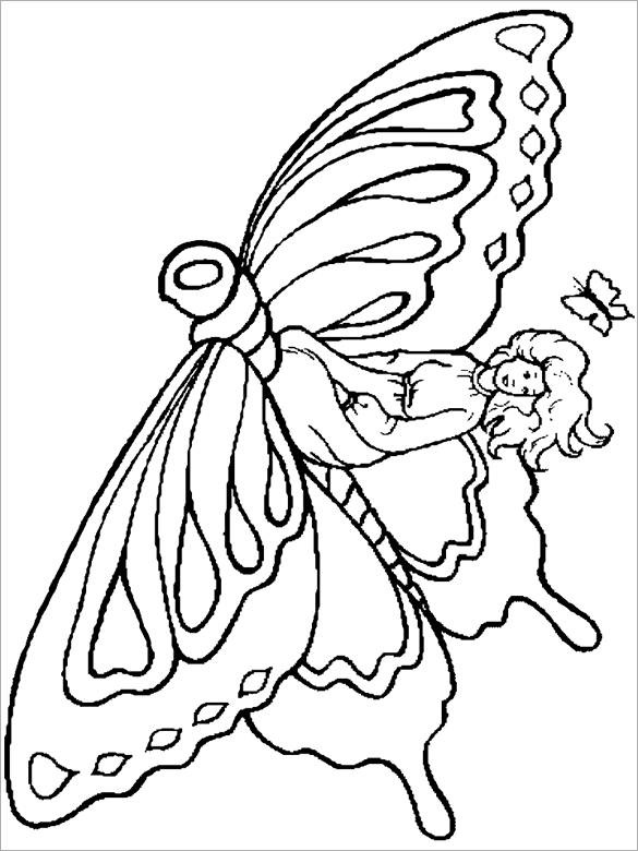 21 fairy coloring pages doc pdf png jpeg eps free premium templates. Black Bedroom Furniture Sets. Home Design Ideas