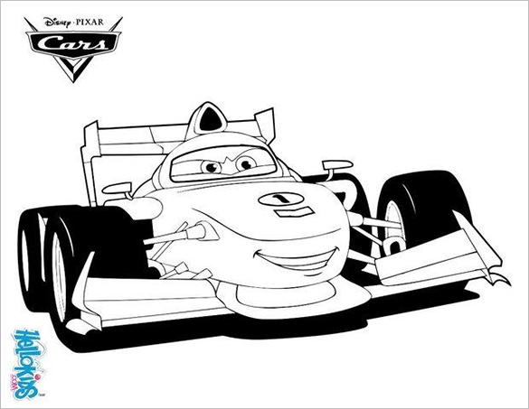 francesco bernoulli car coloring page for you