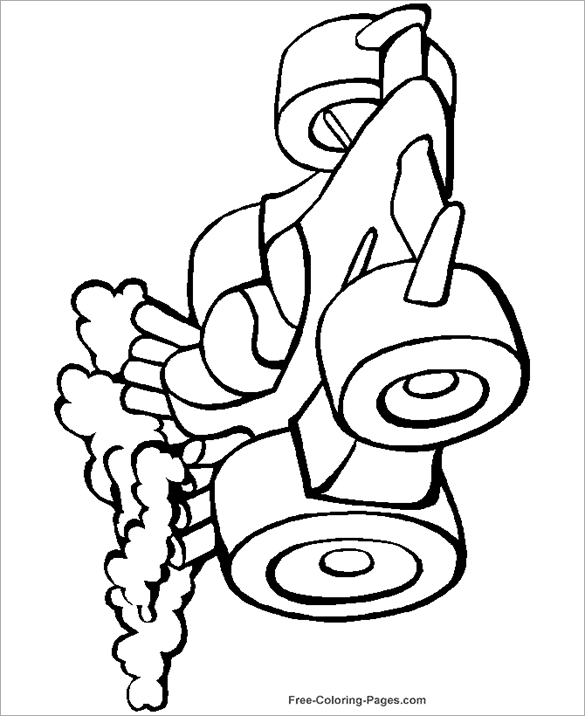 fantastic car coloring page free printable