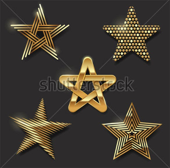 decorative star icons to download