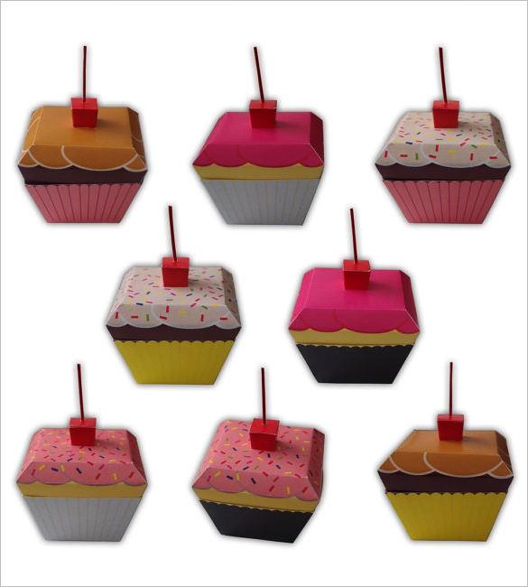 sample cup cake tempalte