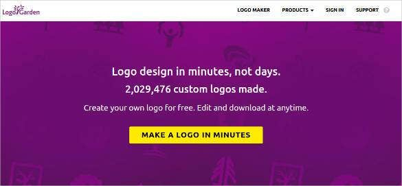 15 top online logo generators free tools 2017 free for Garden design generator