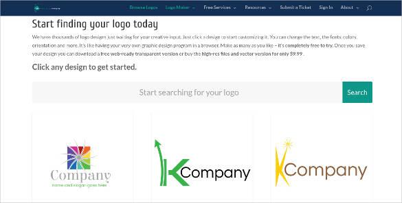 rainbow flower online logo generator3
