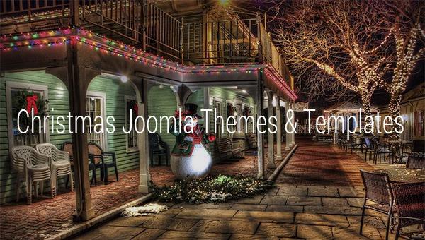 christmas joomla themes templates