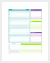 Common Personalized Daily Planner