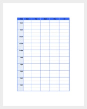 Daily Task Planner for School