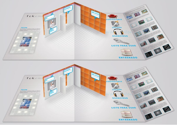 Brochure Pop-Up Tekemi