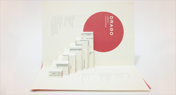 Drago Pop-Up Brochure