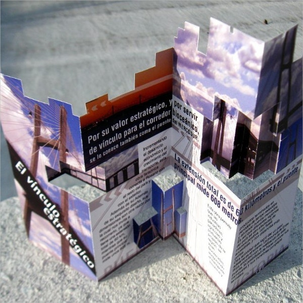 Think Pad Creative Pop-Up Brochure