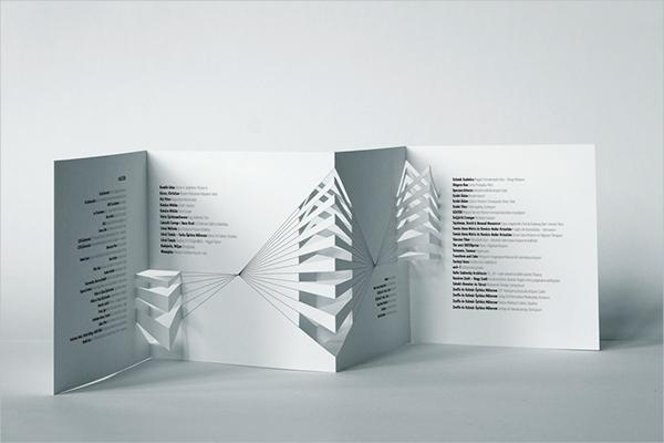 Architectural Model Festival Brochure