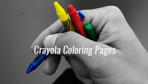 crayolacoloringpages