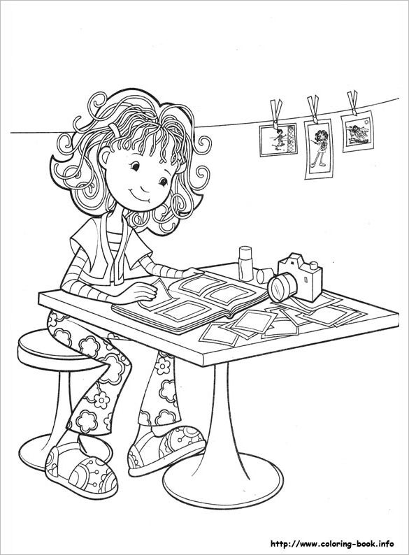 awesome groovy girls coloring page