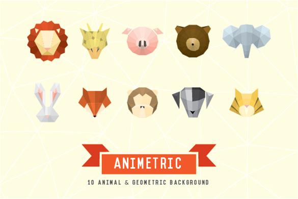 Geometric Graphic Design Animal
