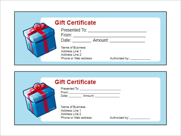 Free Printable Gift Certificate Template Yelommyphonecompanyco - Downloadable gift certificate template