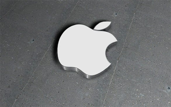 astonishing apple logo free download