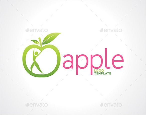best apple wellness logo premium download