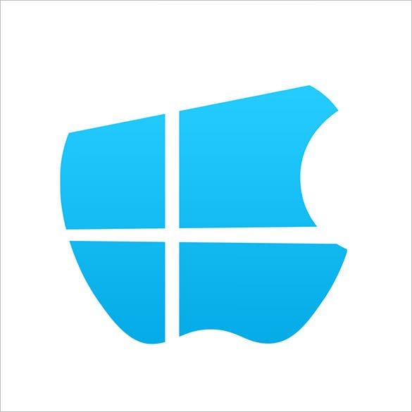 windows and apple logo free download